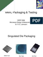 MMIC Design, Part 3 - Packaging & Testing