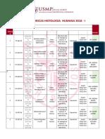Cronograma Histologia Usmp 2018 (1)