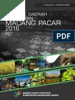 Statistik Daerah Kecamatan Macang Pacar 2016