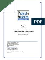 P6 Training Manual Part I(Index)