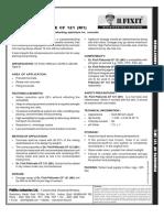 Pidicrete Cf 121 (m1)