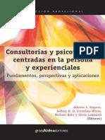 LIBRO - Consultorías y Psicoterapias Centradas en la Persona y Experienciales - Alberto Segrera y otros, Eds..pdf