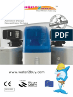 Water2buy Water Softener Owners Manual