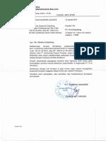 Surat Penugasan Supervisi Enjiniring Pekerjaan Pembangunan Bay Trafo 150 kV 30 MVA, Bay IBT 15070 kV 60 MVA (Relokasi) GI Sirimau