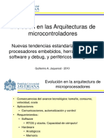 Evolución en Arquitecturas de Microcontroladores - G. Jaquenod