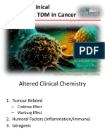 Abnormal Clinical Chemistry & TDM in Cancer