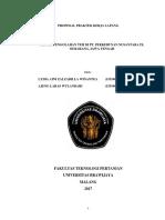 Proposal Pkl Pt.perkebunan Nusantara Ix