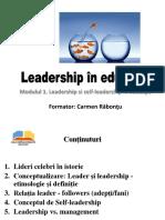 Leadership Si Self-leadership