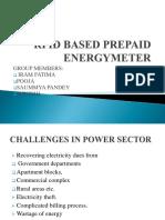 Rfid Based Energymeter