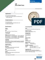 WIKA Pressure Gauge Model 612.20.160.pdf