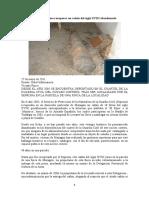 Mazagón quiere recuperar un cañón del siglo XVIII abandonado