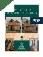 how to repair historic buildings