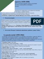 Unidad 13 - La poesía y el teatro en la segunda mitad del siglo XX.ppt