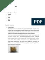 Alat Dan Bahan Yang Digunakan membuat catu daya