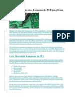 Teknik Cara Menyolder Komponen ke PCB yang Benar.docx