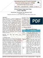 Matlab Based Image Compression Using Various Algorithm