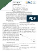 A Brief Survey on Bio Inspired Algorithms for Autonomous Landing 2016 IFAC