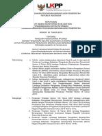 Keputusan Deputi II Nomor 20 Tahun 2018 Tentang Panduan Penggunaan Aplikasi Sistem Pengadaan Secara Elektronik Di Bawah Versi 4.3 Untuk Pelaksanaan Pengadaan BarangJasa Berdasarkan Peraturan Presiden Nomo