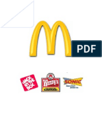 Startegic Business Analysis of McDonald and its Rivals