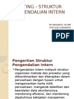 Auditing - Struktur Pengendalian Intern
