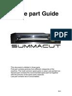 SUMMACUT R Spare Part Guide 11-03-2008