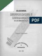 Álgebra (Desigualdades E Inecuaciones) - (Cuzcano) Alejandro Flores Osorio