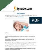 Rangkuman Materi Suhu Dan Kalor By Synaoo.com