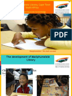 1.Masiphumelele Library October 2010 Presented at LIASA 12 Conference