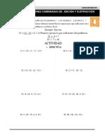 10 Operaciones Combinadas de Adición y Sustracción (Recuperado)