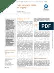 Antiplatelet drugs, coronary stents, and non–cardiac surgery