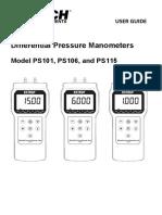 Diferentia Pressure manometer