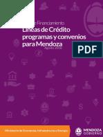 Guía de Financiamiento Mendoza