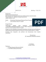 Contoh Surat Permohonan Pemeriksaan Markastama STB