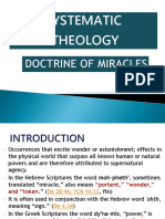Doctrine of Miracles1