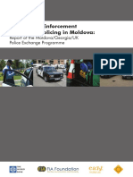 Road Safety Enforcement Moldova Report