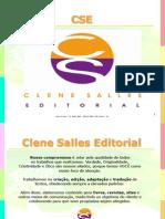 Clene Salles Editorial Apresentação