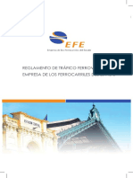 Reglamento de Tráfico Ferroviario