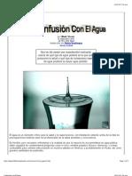 Confusión Con El Agua