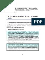 Apuntes Comunicación y Educación
