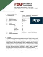 Silabus Racionalización Administrativa UAP