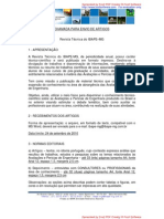 Revista Ibape-mg Chamada de Trabalhos