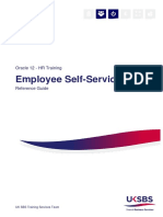 Employee Self Service User Guide
