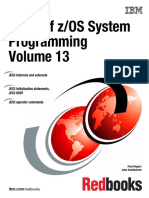 ABCs of z/OS System Programming Volume 13