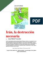 Iran La Destruccion Necesaria - Jean Michel Vernochet