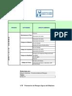 Matriz Medioambiente Perez y Flores