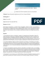 Blaszczyk Juan Alejandro c/ Banco de la Nación Argentina | proceso de conocimiento