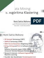 5 Algoritma klastering