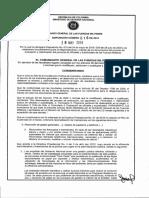 Disposicion 016 Folios de Vida Año 2018
