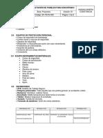 SF-PETS-009 Habilitación de Paneles Para Encofrado