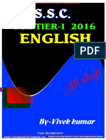 Ssc Cgl 2016 English